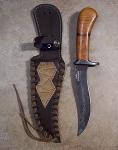 Just Handmade / Custom Knives - Listings View Example Custom Handmade Item 1 Custom Hunting Knives, Custom Knives, Handmade Knives, Handmade Items, Knifes, Swords, Weapons, Leather, Search