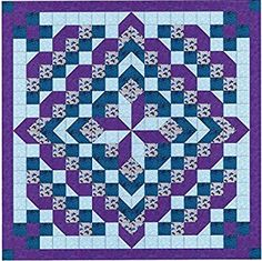 Easy Quilt Kit Faceted Star/EXPEDITED SHIPPING