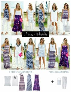 vielseitiger Reiseschrank maxi Source by . Travel Wardrobe, Summer Wardrobe, Capsule Wardrobe, Cruise Outfits, Vacation Outfits, Cruise Attire, Travel Outfit Summer, Summer Outfits, Maxi Styles
