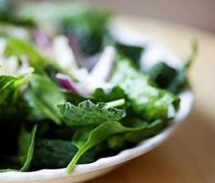 "Smart Serving: Fill up on kale, spinach, and romaine lettuce. It's rare that dietitians recommend piling something on your plate, but leafy greens are the exception to the rule. ""Lettuce is only 10 calories a cup,"" Hosenfeld says."