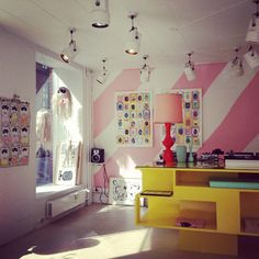 Our lovely shop at Tullinsgade 5 in Copenhagen.