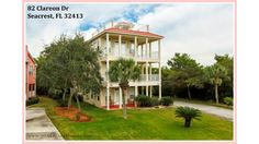4 Bedroom Cottage Style Beach Home for Sale in Seacrest FL|82 Clareon Dr #SeacrestFLHomeForSale #SeacrestFloridaHomeForSale #HomeForSaleinSeacrestFL #DebbieJames