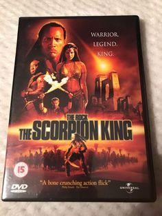 The Scorpion King DVD VGC Bernard Hill Roger Rees Freepost Fast Dispatch.