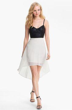 Lush Faux Leather Bustier Dress...    $68.00