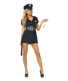 Take a look at this Navy & Blue Police Officer Costume - Women on zulily today!