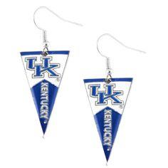 Kentucky Wildcats Women's Pennant Dangle Earrings
