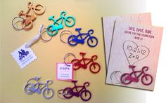 Bicycle Key Chains, Bicycle Party Favors, Bicycle Party, Bicycle Tandem Wedding