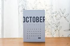 simple calendar.