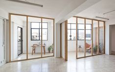Anna & Eugeni Bach | victor perez-porro Divider, Architecture, Anna, Room, Projects, Furniture, Home Decor, Barcelona, Wooden Ceilings
