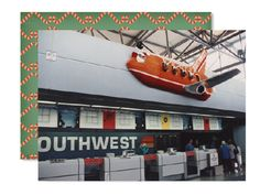 Uh, Santa?  I think we better turn around and pick up the other reindeer. #SouthwestAirlines #Reindeer #Plane