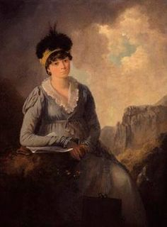 Bella Ibbetson (née Thompson), ca. 1803 (Julius Caesar Ibbetson) (1759-1817) National Portrait Gallery, London NPG 6268