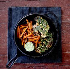 Vegan Chimichurri Cauliflower Steaks