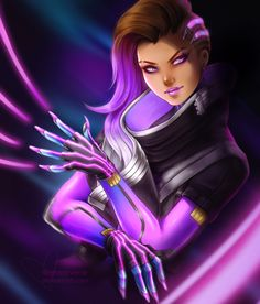 Sombra the Hacker Cleaner Lady