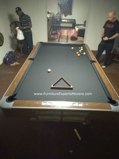 BILLIARD POOL TABLE MOVERS Same Day Service Disassembly - Professional pool table movers