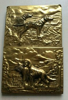 Brass Letter Holder Game Dogs  | eBay Dog Games, Letter Holder, Hunting Dogs, Brass, Lettering, Painting, Ebay, Things To Sell, Art