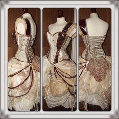Steampunk dress
