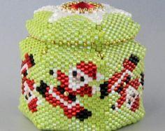 Giglio di Firenze bracelet pattern by Happyland87 on Etsy
