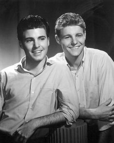 Ricky and David Nelson 1959.