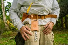 Ed's Bee Yard tool belt