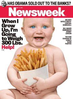 Calorie count on McDonalds menus?!