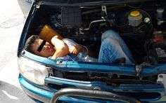 Engine passenger......An 18-year-old Afghan who travelled for over 20 hours in the engine compartment of a car, is discovered in Bari, Italy.