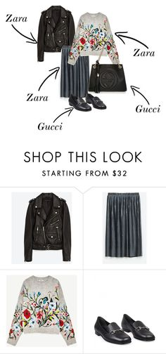 """"""":)"""" by mille-merrit-babette-holgersen on Polyvore featuring Jakke and Gucci"""
