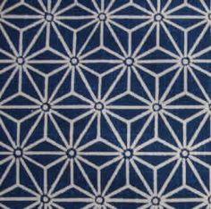 Tissu 100% coton fabriqué au Japon  Largeur du tissu : 1.11 m ( 44 inch )  Vendu par multiples de 0,5m au prix de 7€50 pour 0.5m. Prix du mètre = 15 € Minimum de coupe  - 141845