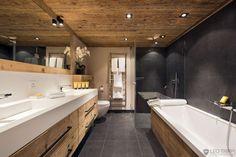 bathrooms luxury alpine chalets - Google Search