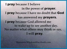 pretty girlz pray quotes | Believe In The Power Of Prayer Pictures, Photos, and Images for ...