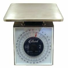 """Edlund 32 oz x 1/8 oz Scale (14-0016) Category: Scales by Edlund. $291.80. Sold Individually. Item #: 14-0016. Stainless steel construction 7"""" x 8 3/4"""" oversized platform 30 Degree viewing angle large scale dial for more accurate measurements and removable dial face for easier cleaning Scale housing and mechanism can be submerged for cleaning Rustproof NSF"""" Customers also search for: Restaurant Supplies\Kitchen Supplies\Thermometers, Scales and Measures\Scales rest..."""