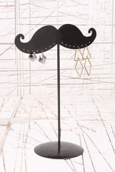 moustache jewelry storage (Urban Outfitters)
