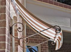 Beautiful home design with this classic #awning