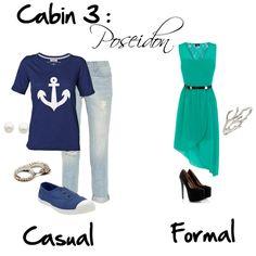 """Cabin 3: Poseidon"" by idmiliris on Polyvore"