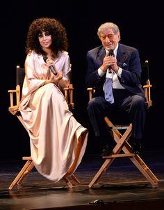Lady Gaga and Tony Bennett at Frank Sinatra School of Arts 3