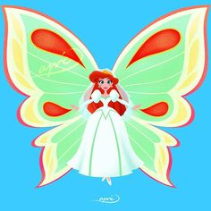 Ariel [as a butterfly] (Drawing by ApicolloDraws Disney Princess Art, Disney Fan Art, Disney Princesses, Princess Cakes, Butterfly Drawing, Butterfly Fairy, Butterfly Wings, Disney Dream, Disney Love
