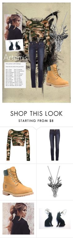 """""""Day 8: Artemis"""" by hypegirl101 ❤ liked on Polyvore featuring WearAll, Tory Burch, Timberland and Mulberry"""