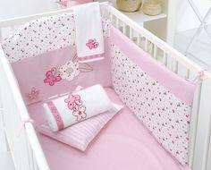 Disney Baby Bedding Sweet Minnie Mouse Crib Bumper by Minnie Mouse Disney Baby Bedding, Baby Disney, Pink Camo Baby, Camo Baby Stuff, Girl Room, Baby Room, Minnie Mouse Nursery, Mini Crib, Nursery Bedding Sets
