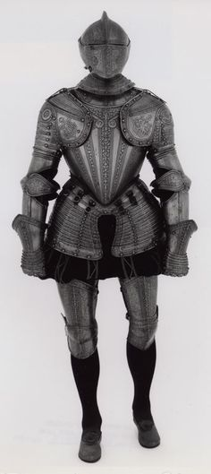 Italian Composite Armor, c. 1580/90 with some later etching