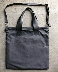 Waxed canvas + simple design = Gimme!