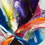Contemporary abstract painting using wild and vivid colors to create movement and depth. Formation of Desire Abstract Wall Art by Jonas Gerard from Great BIG Canvas. Wall Art Prints, Framed Prints, Poster Prints, Canvas Prints, Big Canvas, Framed Wall, Posters, Sky Art, Abstract Wall Art