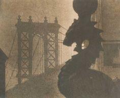 Dr. Mitchel A. Obremski - Manhattan Bridge and Statue, New York City, NY