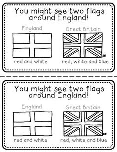 England Booklet (a country study!)