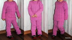Child´s knitted wool shirt and trousers Trousers, Wool, Suits, Children, Fashion, Trouser Pants, Young Children, Moda, Pants