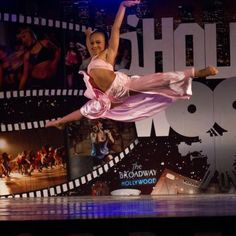 Nia Sioux Frazier (Lifetime's Dance Moms) dancing in Hollywood