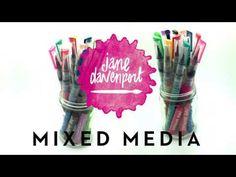 Jane Davenport Mixed Media - Mermaid Markers - YouTube