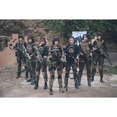 cutegungirls woodland tactical gungirl tacticalgirl airsoft devgru airsoftgirl 武装娘 gun airsofter - Instagram(インスタグラム)の画像・動画