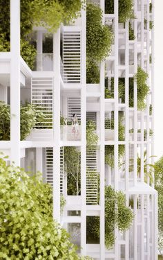 penda to Build Modular, Customizable Housing Tower in India,© penda..can use the semi partition to change space usage