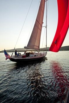Morris yacht. This looks like a nice way to finish the day.