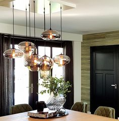 Project Styled by Mie Salon Lighting, Interior Lighting, Home Lighting, Deco Luminaire, Luminaire Design, Dining Table Lighting, Interior Desing, Coastal Living Rooms, Room Lamp