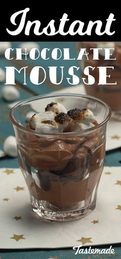 This instant chocolate mousse is for when you need chocolate, like, now.